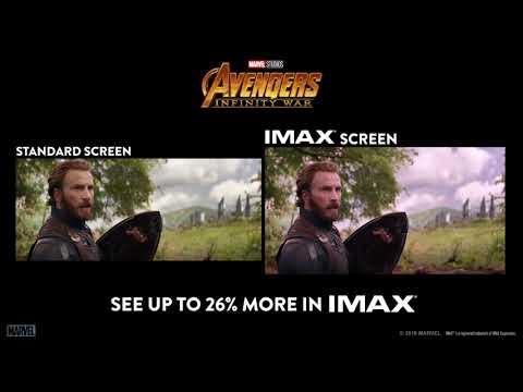 Avengers: Infinity War Side by Side IMAX Screen - Cinema 21 Trailer
