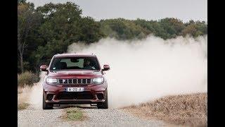 Jeep Trackhawk versus Jaguar I-Pace