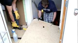 Asbestos Kitchen Floor Removal Demo_2