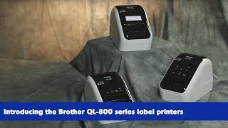 Intro to the Brother QL-800 series label printers