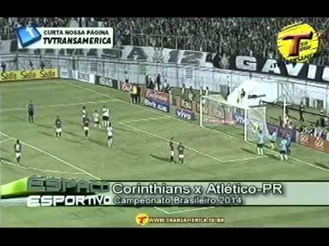 Tv Transamérica - Arquivo da Bola - Corinthians 1x1 Atlético PR