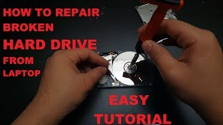 How To Repair a Hard Drive that makes noise Easy Tutorial ✔