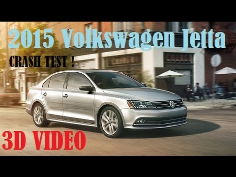 2015 Volkswagen Jetta IIHS Crash Test [3D]