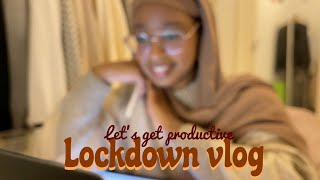 Lockdown vlog ep. 1 | Iĸea haul & trying to be productive 📖