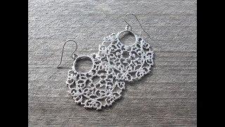 Trendy Silver Filigree Hoops Earrings Models || New fashion earrings collections
