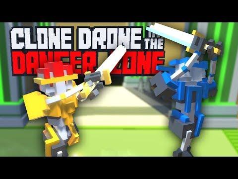 CLONE DRONE : 1 contre 1 dans une arène
