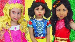 Alice quiere ser hermosa y coser princesas se visten