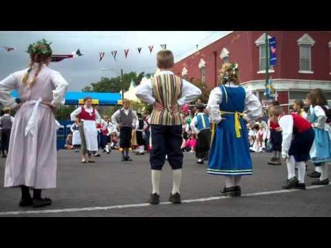 4th Grade Dancing, Svensk Hyllningsfest 2011, Lindsborg, KS