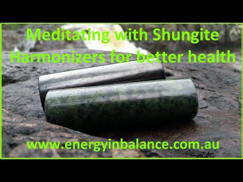 Using Shungite Harmonizers For Better Health
