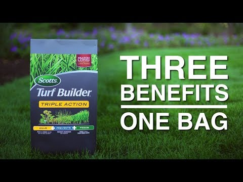 How to Apply Scotts® Turf Builder® Triple Action to Your Lawn