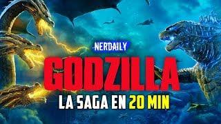 Godzilla 1 y 2 EN 20 MINUTOS