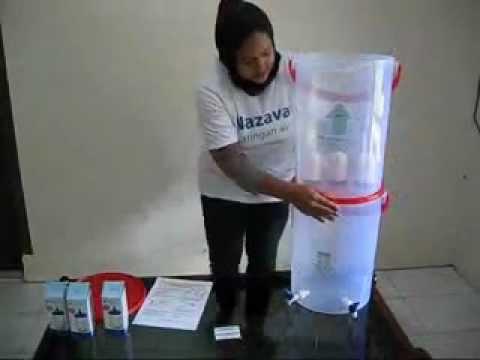 Filter Penjernih Air Minum Nazava Cara Pemasangan