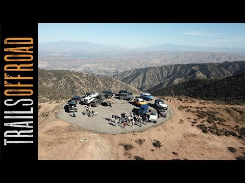 Saddleback Mountain 4wd Road - Orange County California 2018 Jan 28 Trip Report in 4k UHD
