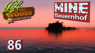 MINE Bauernhof | Echt Weise: Heimreise! ► #86 MINECRAFT Life in The Woods deutsch