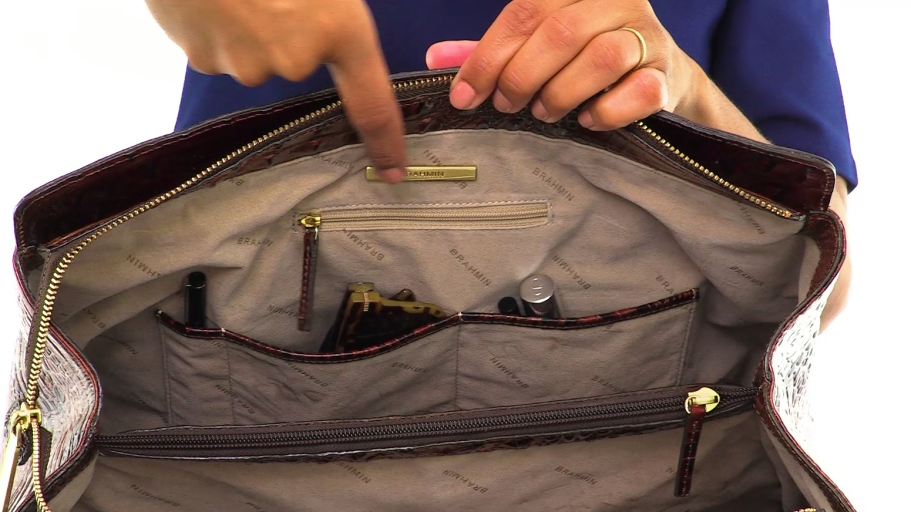 0f8920c8335d Brahmin Finley Carryall Video. Brahmin Handbags