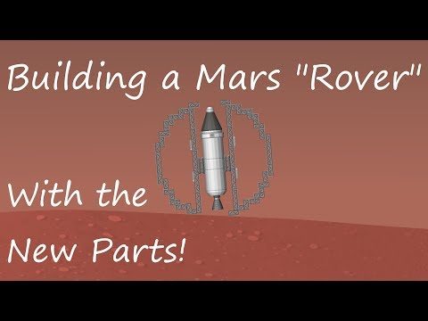 Spaceflight Simulator Update! Using the New Parts to build a Rover