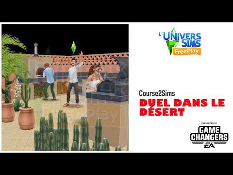 The Sims Freeplay-Duel dans le desert-Accès Anticipé