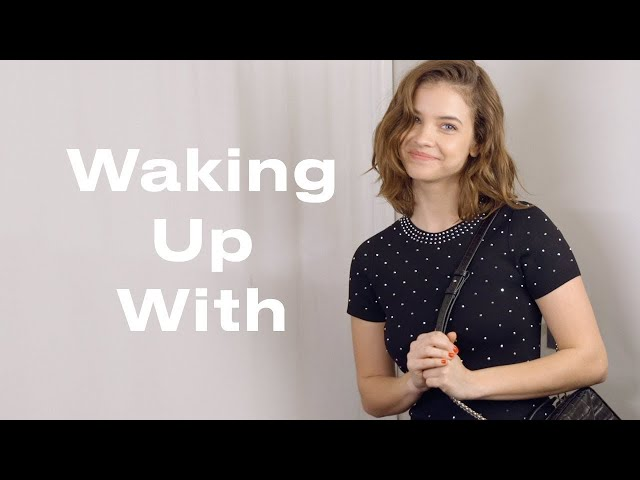 The Volcanic Face Mask Barbara Palvin Uses for Perfect Skin | Waking Up With | ELLE