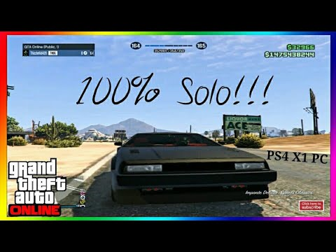 GTA Online How To Get A Solo Public Session | GTA 5 Solo Public Session [PS4, X1, PC]