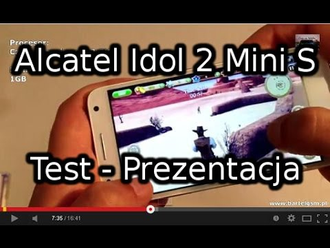 Alcatel Onetouch Idol 2 Mini S Test - Prezentacja