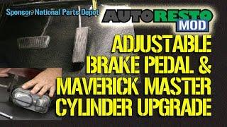 Installing the Scott Drake Adjustable Brake Pedal Rod and Maverick Master Cylinder Episode 220 Autor