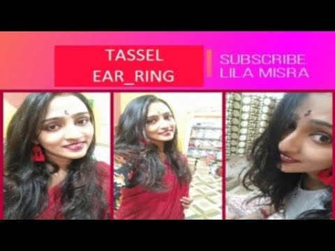 DIY Tassel Earring    At A Very Cheap Price