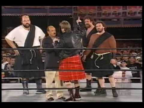 WCW Monday Nitro 3-10-97 Roddy Piper meets the Four Horsemen promo