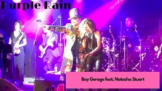 Purple Rain duet with Boy George