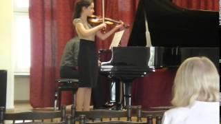Aleksandra Nawrot - Gustav Hollaender: Koncert szkolny op.62 cz.1