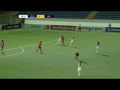 CUW17 2018: Nicaragua vs Haiti Highlights