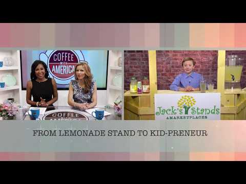 Jack Bonneau -11 year old Entrepreneur, Santa Cruz Organic