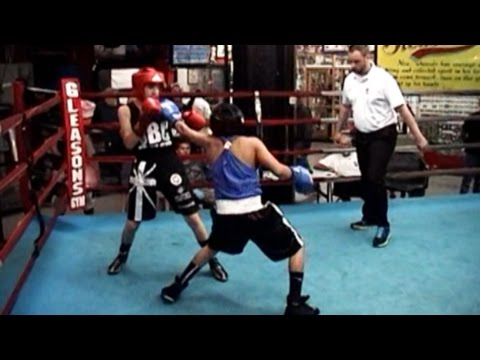 NY v SHEFFIELD J.O. BOXING at GLEASONS GYM  8/26/14 6 bouts
