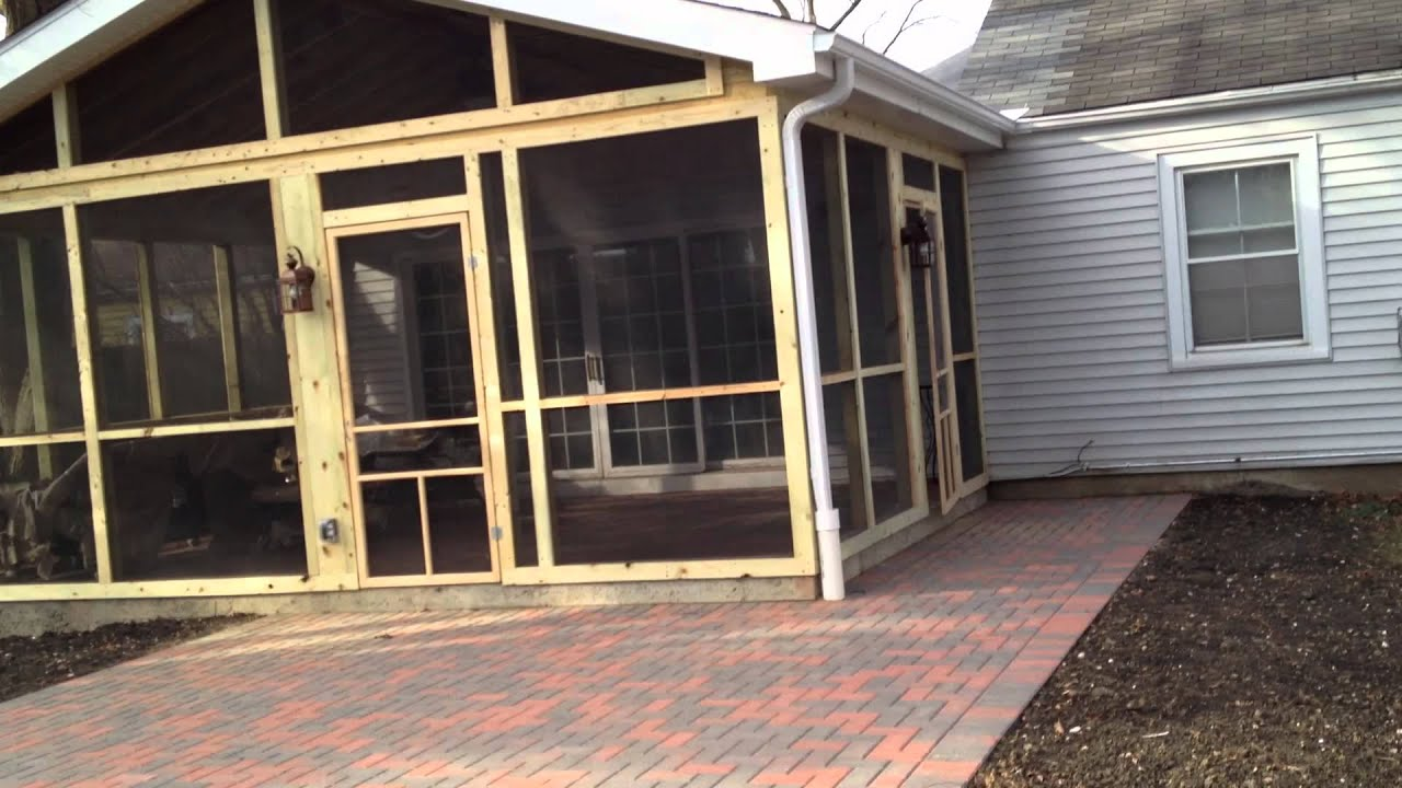 Screened Porch & Patio in Northbrook IL Archadeck to the rescue