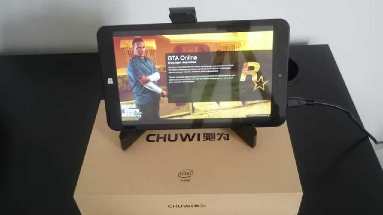 Bien-aimé GTA 5 en streaming sur la tablette CHUWI VI8 - YouTube ZO43