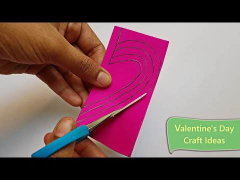 3 Simple & Easy Valentines day Craft Ideas💗 || Valentines day Crafts❤