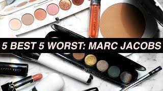 5 BEST & 5 WORST: MARC JACOBS BEAUTY | Jamie Paige