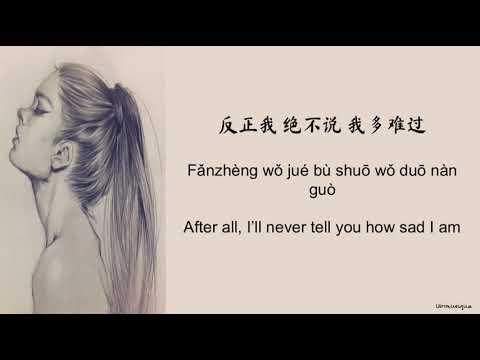 梁文音 (Rachel Liang)  分手后不要做朋友 (Fen Shou Hou Bu Yao Zuo Peng You) Lyrics (CHN/PIN/ENG)