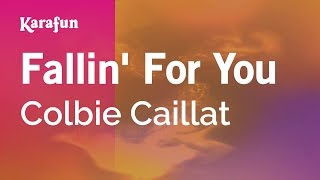 Karaoke Fallin' For You - Colbie Caillat *