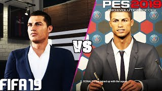 FIFA 19 vs. PES 2019: Career Mode vs. Master League