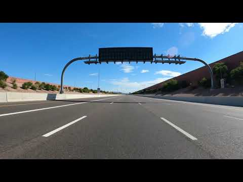 Center Pkwy, Tempe, Arizona on Loop 202, Red Mountain Freeway to Gilbert Rd, Mesa, GX050053