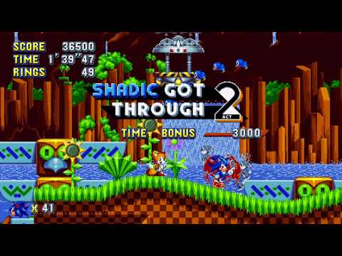 Sonic Mania Mod - Shadic The Hedgehog