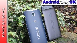 Head to Head: Nexus 6 vs Nexus 6P (Benchmark, GPS, Speaker, Browser)