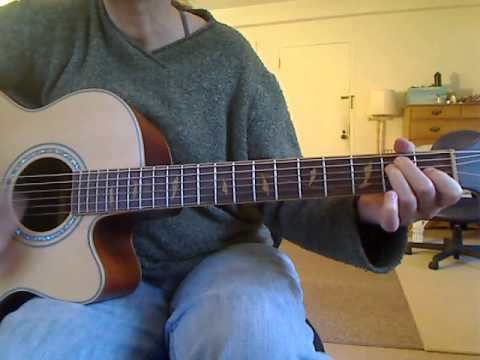 Lesley Diane Guitar - Up Against the Wall - Jerry Jeff Walker - Play-Along Practice Vid
