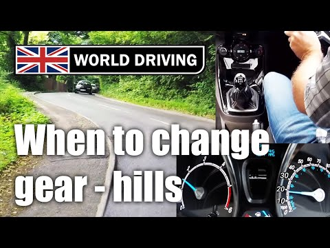When To Change Gear Uphill How To Drive A Manual Car