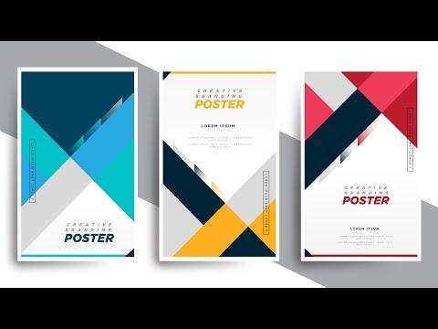 Creative Branding Posters | Illustrator Tutorials | TL thumbnail