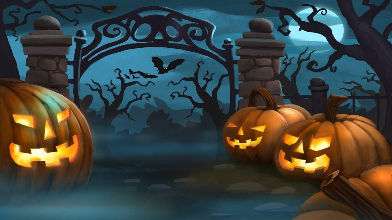 Fall In To Winter Wallpaper Halloween Music Pumpkin Town Youtube