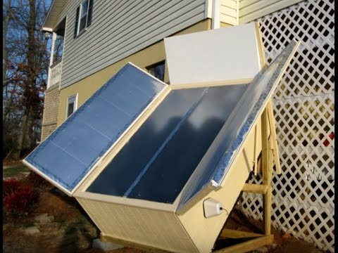 Solar Water Heater Passive Build Install Breadbox