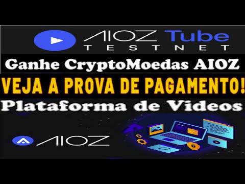 【AIOZ TUBE】Ganhe Cryptomoedas AIOZ Grátis | Prova de Pagamento | Plataforma de Vídeo | Renda Extra