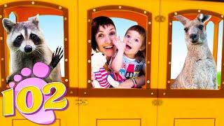 Бьянка и Маша Капуки идут в Контактный зоопарк - Привет, Бьянка