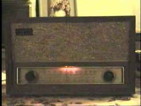 Zenith C730 Tube-Type AM/FM radio - YouTube